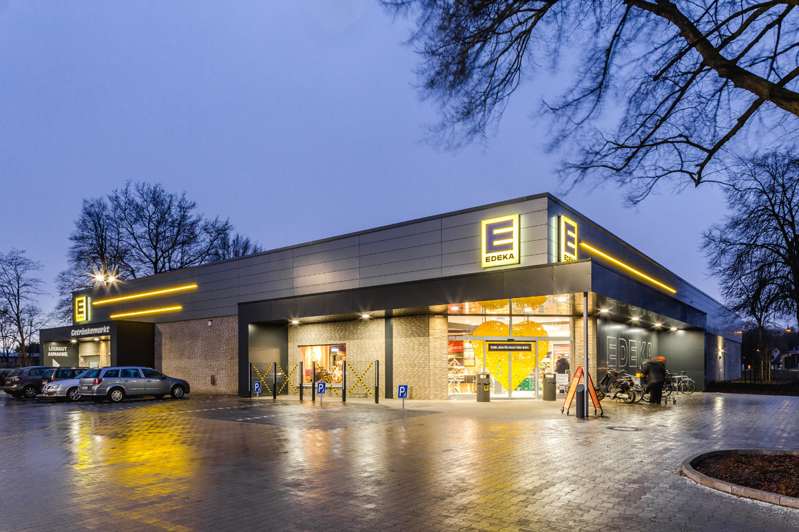 "Dierken Bau in Goldenstedt - Bauprojekt ""Edeka in Bremen"""
