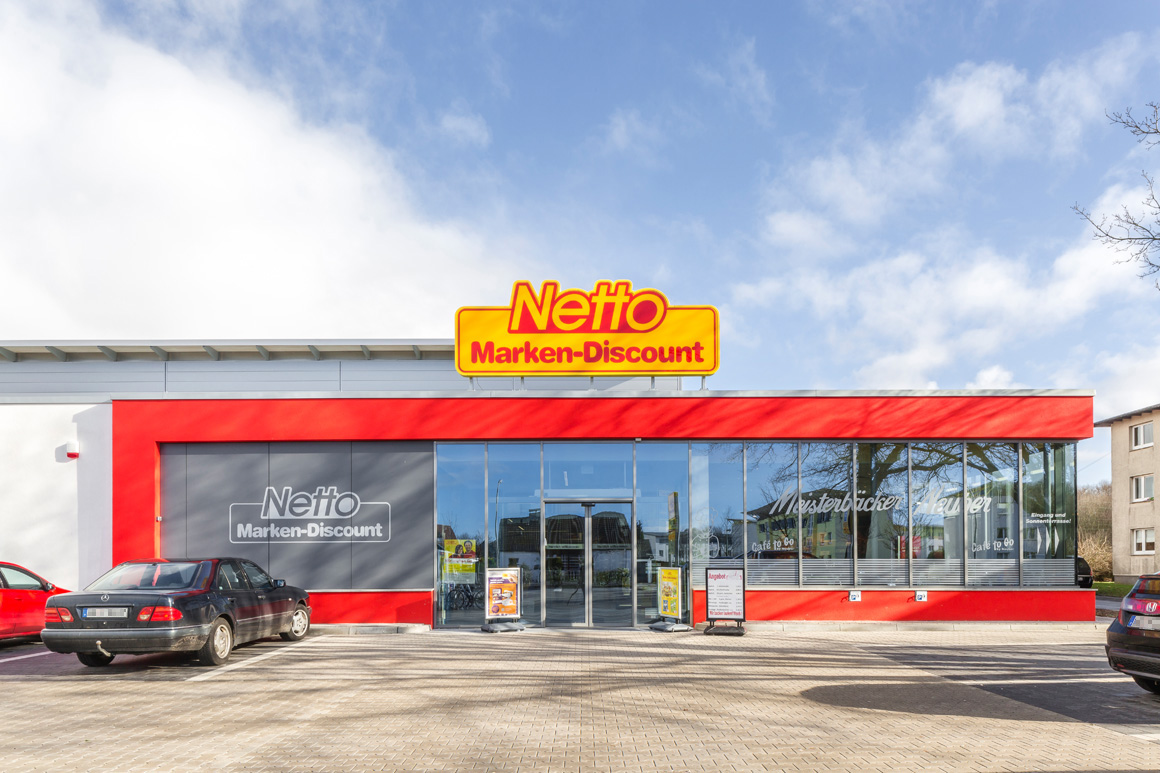 "Dierken Bau in Goldenstedt - Bauprojekt ""Netto in Bremerhaven"""