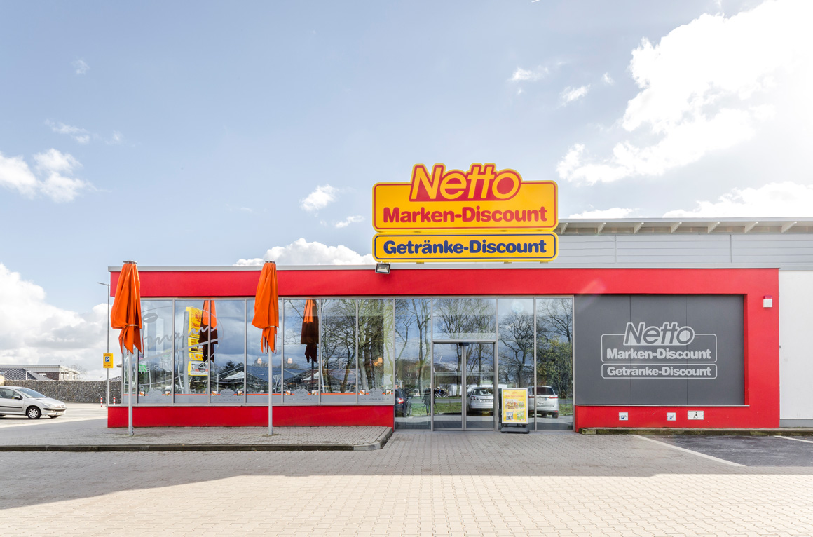 "Dierken Bau in Goldenstedt - Bauprojekt ""Netto in Diepholz"""