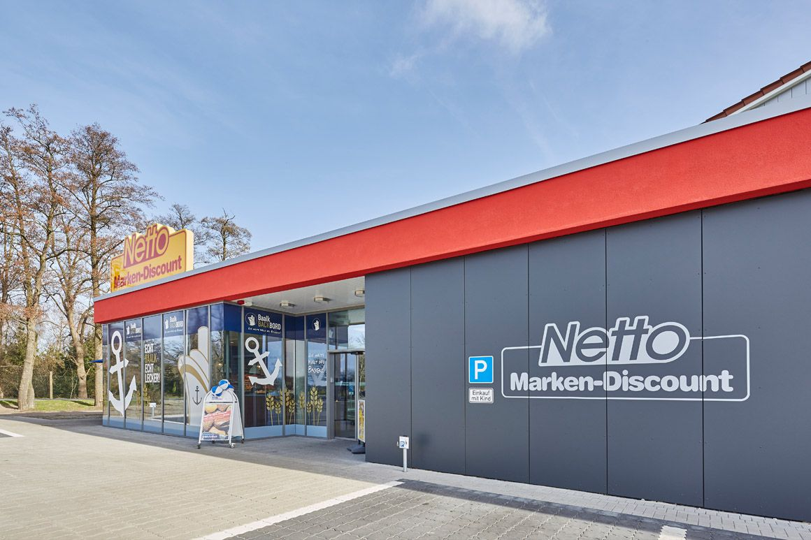 "Dierken Bau in Goldenstedt - Bauprojekt ""Netto in Martfeld"""